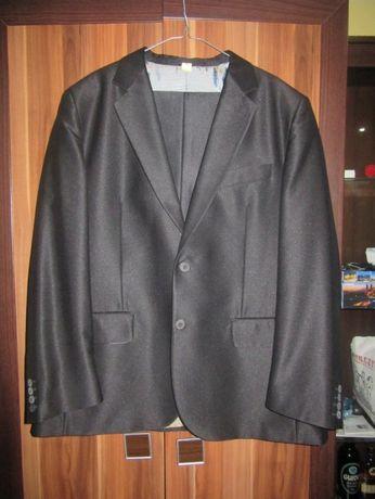 Sprzedam czarny błyszczący garnitur 176/96