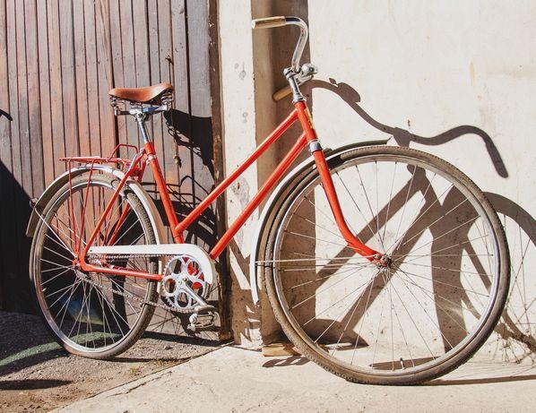 Piękny oryginalny stary rower Ukraina Ural Omsk ZSRR kolekcjonerski