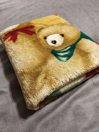 Детский тёплый плед, одеяло, покрывало