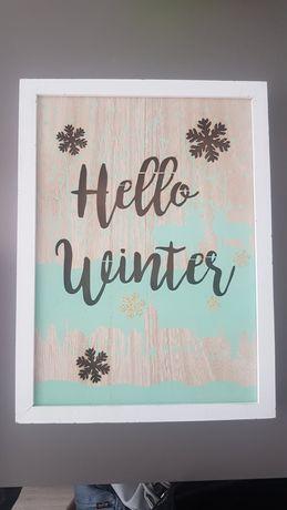 Картина Привіт зима