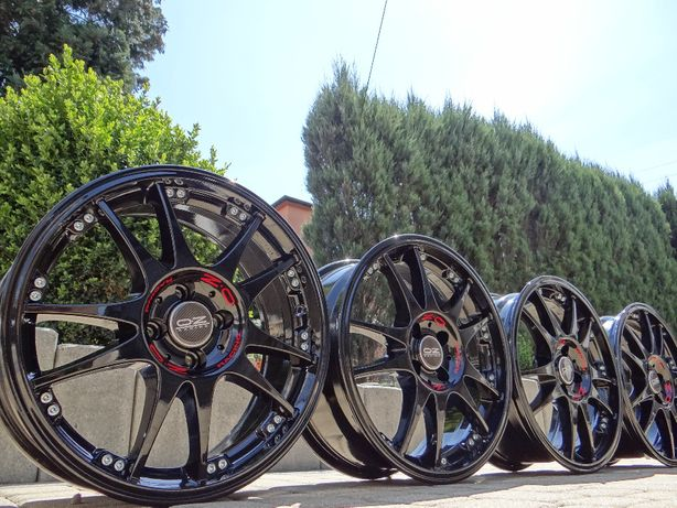 bbs oz 17 4x100 gti vw golf polo opel astra honda civic renault clio