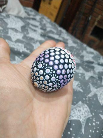Деревянное яйцо (ручная работа)