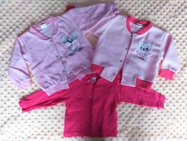 Bluzy niemowlęce 3 sztuki