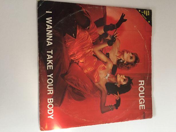 Disco de Vinyl - Rouge - I Wanna Take Your Body - (Vinyl de 12)