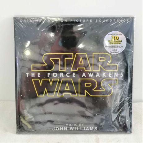 """Disco de Vinil """"Star Wars The Force Awakens 3D Hologram"""""""