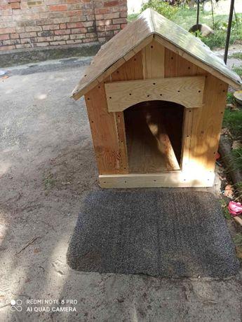 Утепленная будка для собаки на заказ
