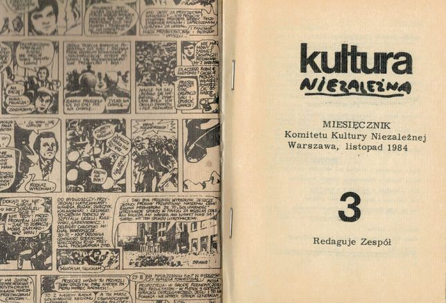Kultura Niezależna nr 3 (1984) - DRUGI OBIEG