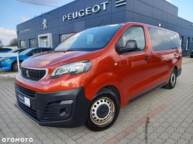 Peugeot Traveller EXPERT LONG 9 miejsc/ 115 KM / Serwis ASO / FV 23% / Gwarancja 12 m cy