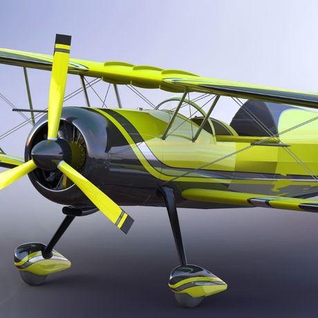 Чертежи для постройки самолета биплана