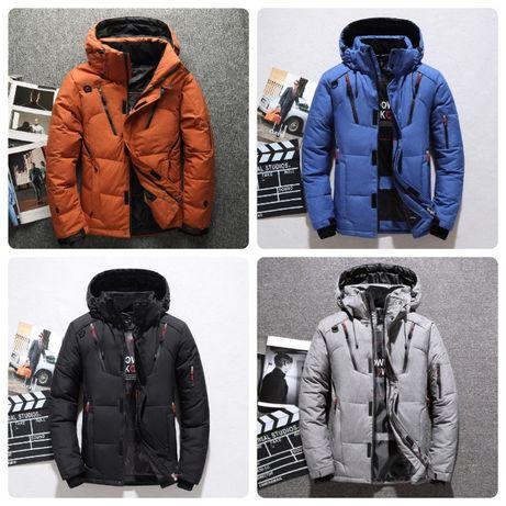 Мужская зимняя спортивный куртка пуховик JEEP. 4 цвета! Размеры 48-52