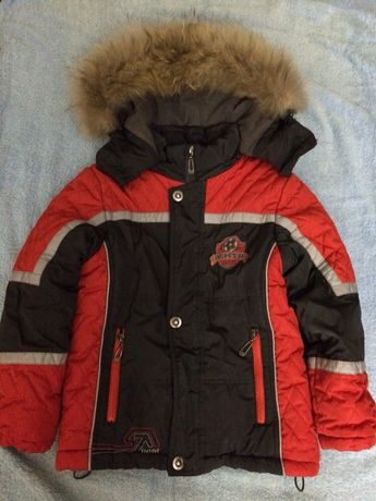 Куртка зимняя 4-5 лет 104р.