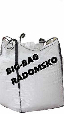 Big bag bagi begi mocne worki z lejem spustowym 93/93/170 cm