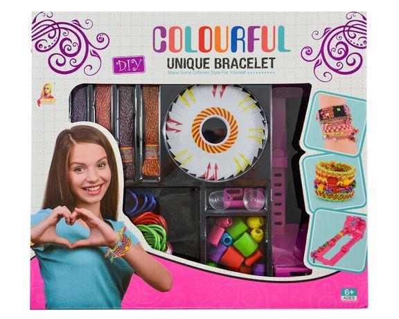 Zestaw do robienia bransoletek dla dzieci - nowy