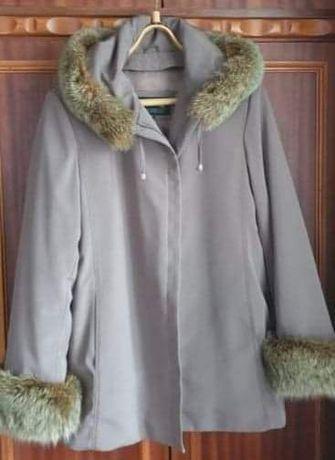 Куртка зимова на натуральному хутрі
