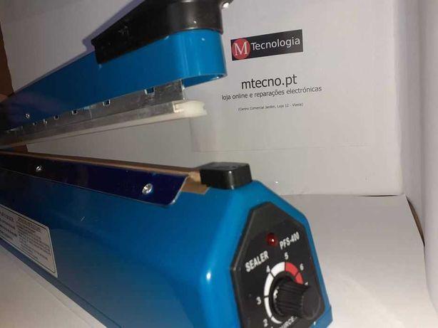 Selador Sacos Plástico - Máquina de Selar 300mm (outras medidas)