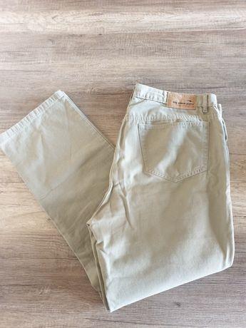 Spodnie beżowe jeans Big Stone