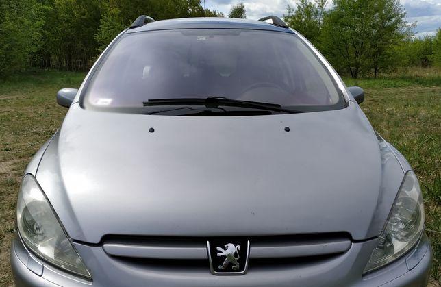Części Peugeot 307 SW Kombi 2.0 HDi maska EZAC EZA