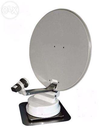 Antena parabólica automática de 70, GPS para autocaravana