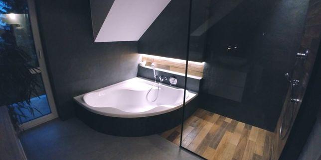 Kafelkarz Glazurnik Wykończenie łazienki kompleksowo Gres Płytki