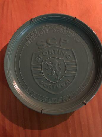 Prato em porcelana Sporting Club de Portugal