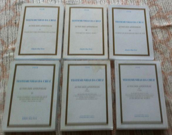 colecçao de livros actos dos apostolos