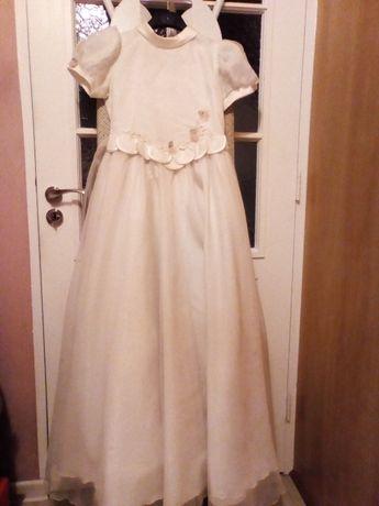 Sukienka komunijna, stan bardzo dobry, jeden właściciel