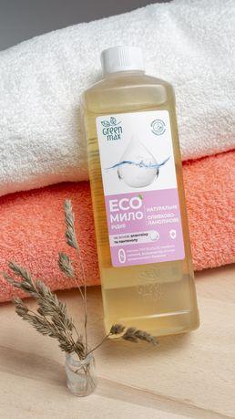 Натуральное жидкое мыло Green Max антисептическое действие (500ml)