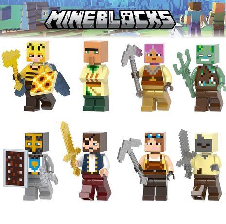 Bonecos minifiguras Minecraft nº8- compatível com Lego