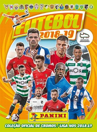 Cromos Futebol 2018-19 Panini - lista actualizada 22/04/2019