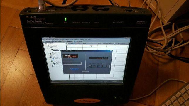 Fluke Networks Optiview III analizator sieci Ethernet UTP, fiber, WiFi