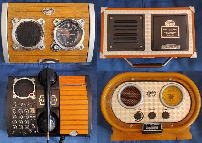 KIT 4 peças - 3 rádios + 1 Telefone SPIRIT OF ST. LOUIS
