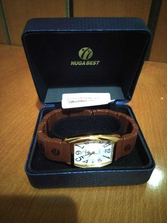 Нуга Бест мужские наручные часы с турманиевым браслетом
