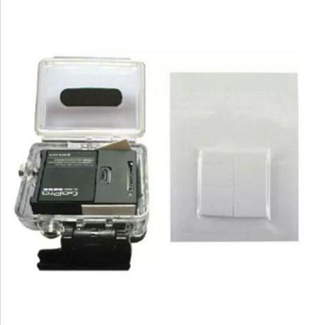 Tiras anti embaciamento -Gopro - Xiaomi - Pack 12 tiras -Portes Gratis