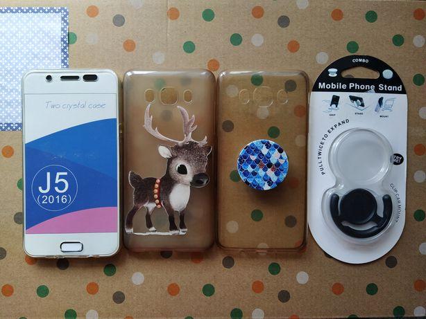 Samsung Galaxy J5 2016 capa, pop socket
