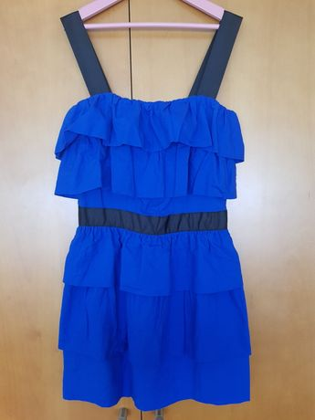 Vestido azulão