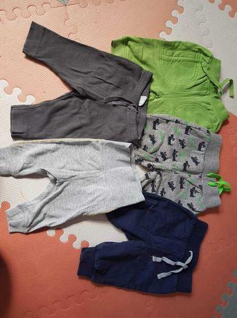 Spodnie chłopiec 56, 56/62, H&M, bpc, koszulka kappAhl 56 gratis