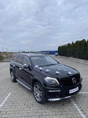 Auto do ślubu Mercedes-Benz GL 6.3AMG BRABUS