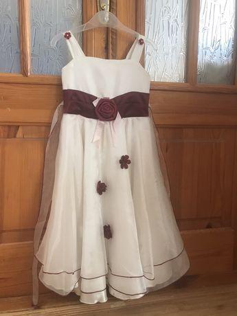 Нарядное, выпускное платье для девочки