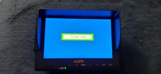 """Monitor podgładowy 7"""" hdmi Liliput 667GL-SR"""