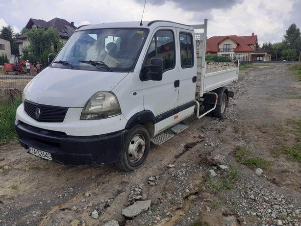 Renault master mascott brygadowka wywrotka