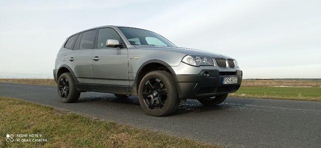 BMW X3 2005 - Auto naprawde ładnie sie prezentuje