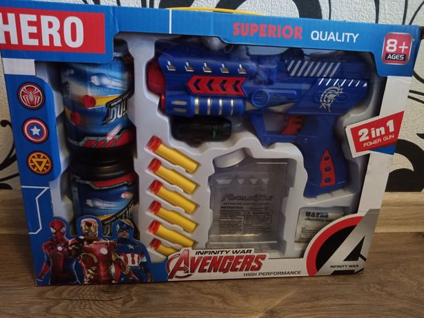 Супергеройский набор для мальчика