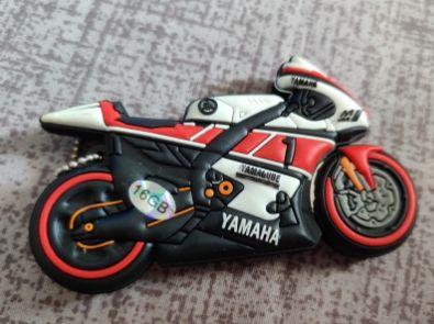 Флешка USB flash носитель мотоцикл байк 16гб yamaha