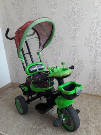 Велосипед трансформер дитячий, детский трёхколёсный велосепед