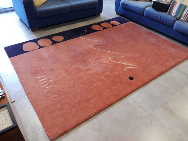 Carpete sala estar e jantar