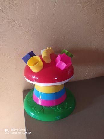 Игрушка грибок - пирамида