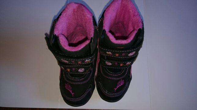 Buty zimowe dziewczęce rozm.22 z księżniczką disney