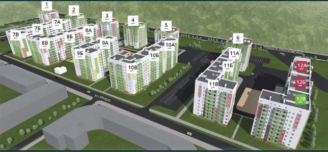 Продаю двухкомнатную квартиру в новострое ЖС-1, ЖК Мира-3, дом 11