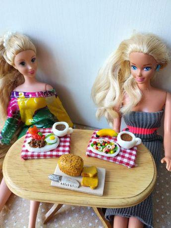 Barbie, dollhouse, maileg, Schleich, gadżety, jedzenie