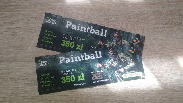 2 Vouchery na paintball - 150 zł
